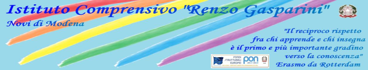 """Istituto Comprensivo """"Renzo Gasparini"""" – Viale Martiri della Libertà, 18/B  – 41016 Novi di Modena (M0) – tel. 059670129"""